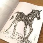 Day 76 Zebra Sketch