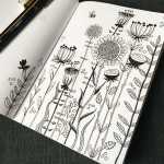 Day 79 Floral Sketch