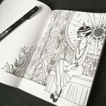 Day 80 Clarabel Sketch