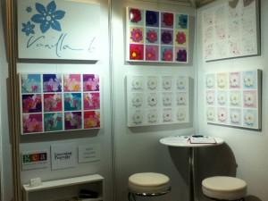 Vanilla Bloom exhibition stand